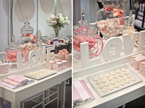 Sugar Pink Sweet Buffet For Your Wedding Reception Wedding To Be