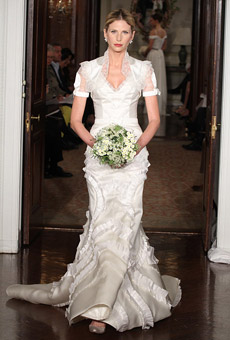 carolina herrera Bridal Market April 2010