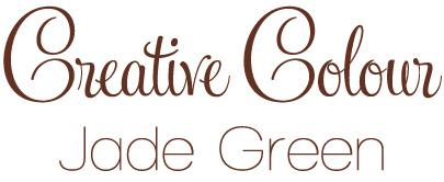 jade green text Creative Colour Jade Green
