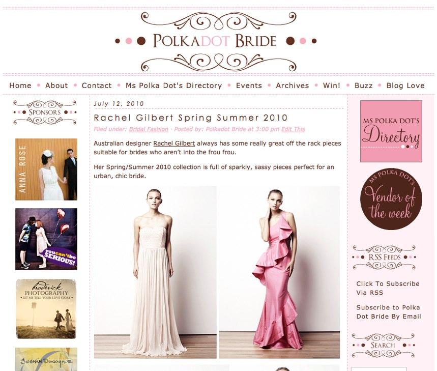 Polka Dot Bride - The Australian Wedding Blog