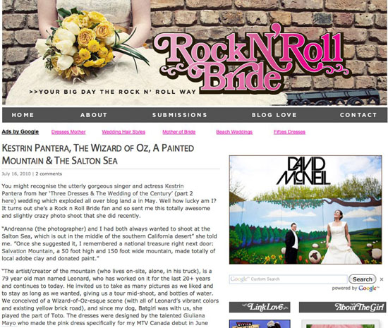 Rock n Roll Bride Wedding News Roundup