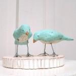 bluebirdweddingcaketopper