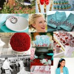 red-and-bright-aqua-mood-board
