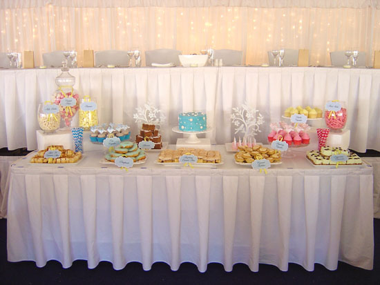 happy cakes dessert buffett004 Jane and Vins Dessert Table