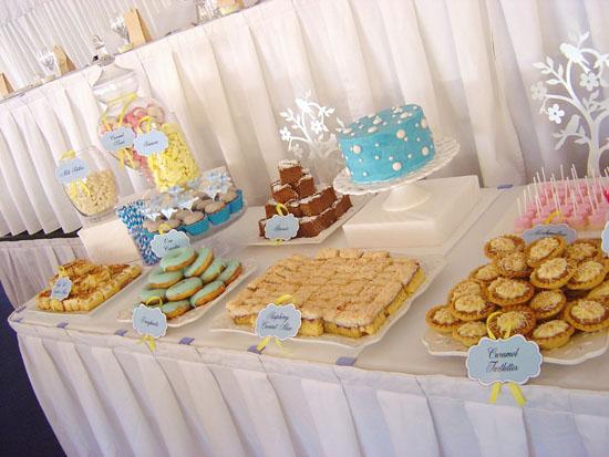 happy cakes dessert buffett007 Jane and Vins Dessert Table