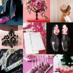 pink-and-black-wedding