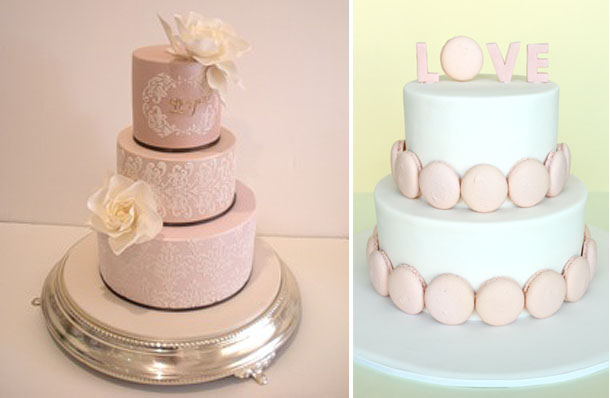 spring inspired cakes1 fayecahill welovebaking Spring Inspired Wedding Cakes
