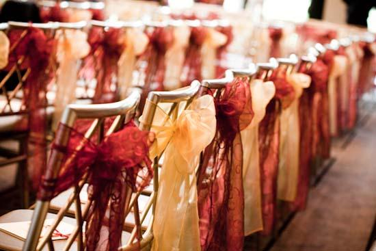 magenta indian wedding reception