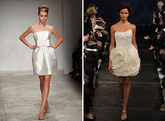 New Amsale rivini New York Bridal Fashion Week Spring 2011