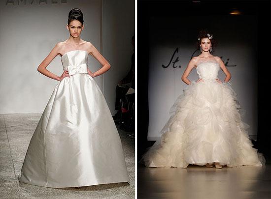 New Amsale st pucchi 001 New York Bridal Fashion Week Spring 2011