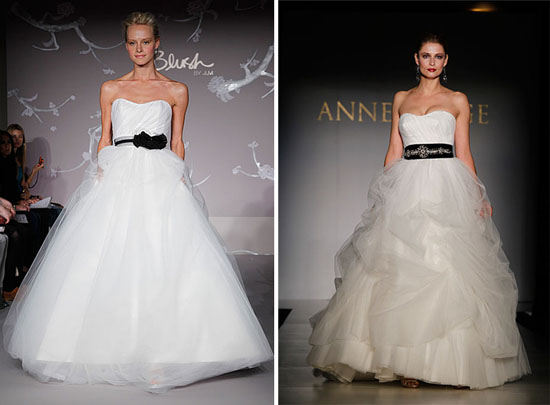 New Blush by JLM Wedding Dresses anne barge005 New York Bridal Fashion Week Spring 2011