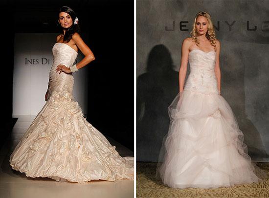 New Ines Di Santo JENNY LEE New York Bridal Fashion Week Spring 2011