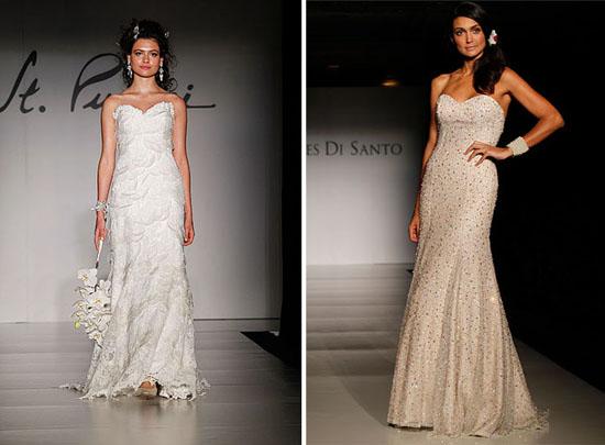 New St Pucchi Wedding Dresses ines de santo New York Bridal Fashion Week Spring 2011