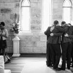 groom-praying