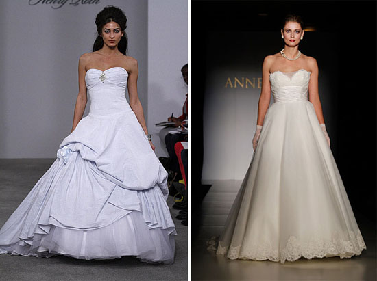 henry roth anne barge New York Bridal Fashion Week Spring 2011