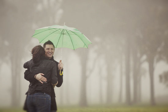 rainy day engagement shoot07 Fiona and Dylan A Rainy Day Engagement