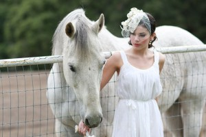 wedding shoot with horses02