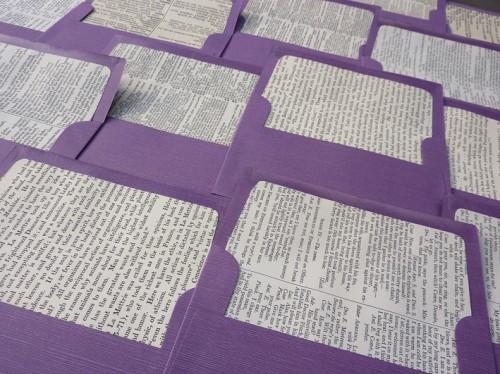 10 Vintage Book Envelope Liners Tutorial