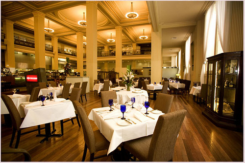 Treasury Restaurant, interior