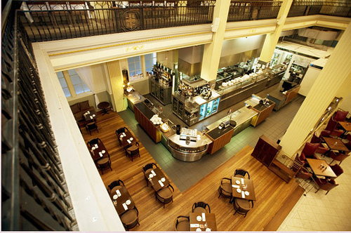 Treasury Restaurant, mezzanine