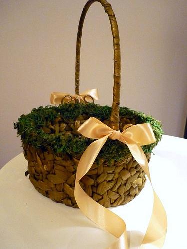 DIY project - Flowergirl Basket