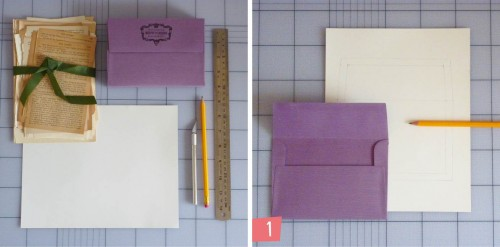 7 Vintage Book Envelope Liners Tutorial