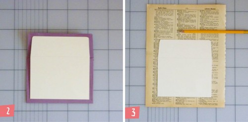 8 Vintage Book Envelope Liners Tutorial