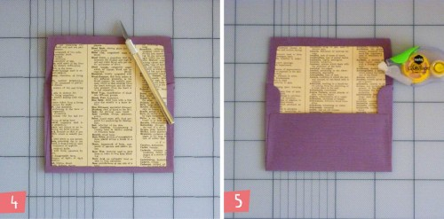 9 Vintage Book Envelope Liners Tutorial