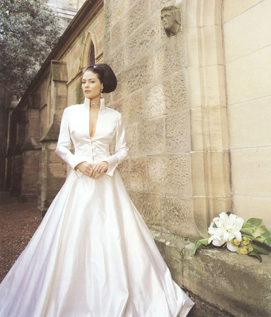 Basilica Winter Angelina Gown Winter Wedding Gowns