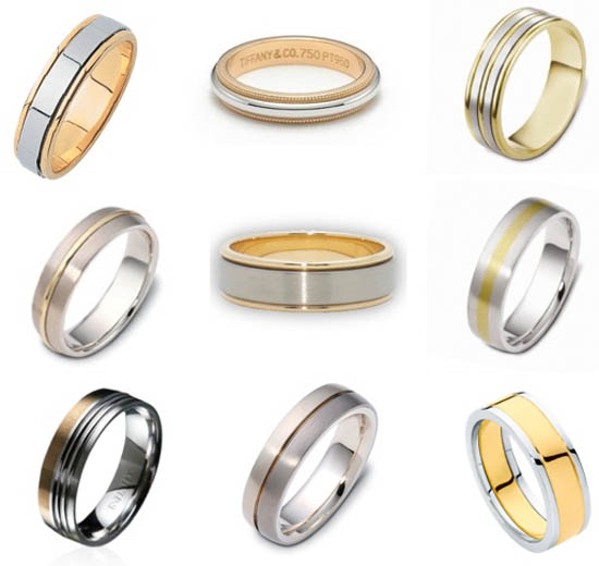 Here 39s a roundup of some of my favourite two tone men 39s wedding bands