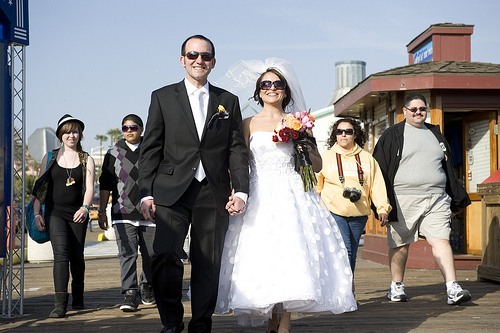127 A Wedding on the Santa Monica Pier, April 10, 2010
