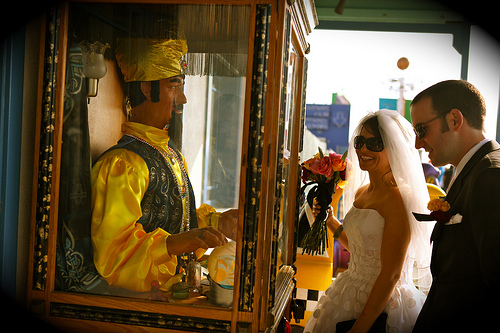 128 A Wedding on the Santa Monica Pier, April 10, 2010