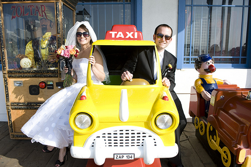 129 A Wedding on the Santa Monica Pier, April 10, 2010