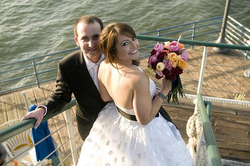 139 A Wedding on the Santa Monica Pier, April 10, 2010