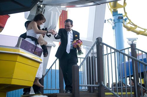 144 A Wedding on the Santa Monica Pier, April 10, 2010