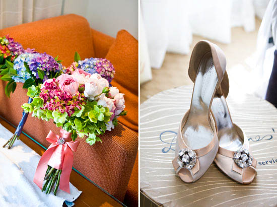 flowers and shoes