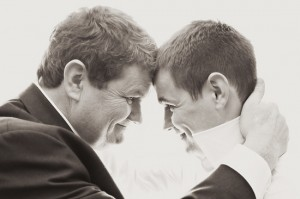 Groom and his Dad