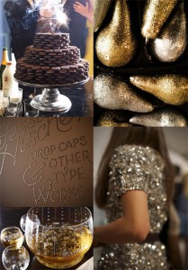 Sparkly Wedding Party
