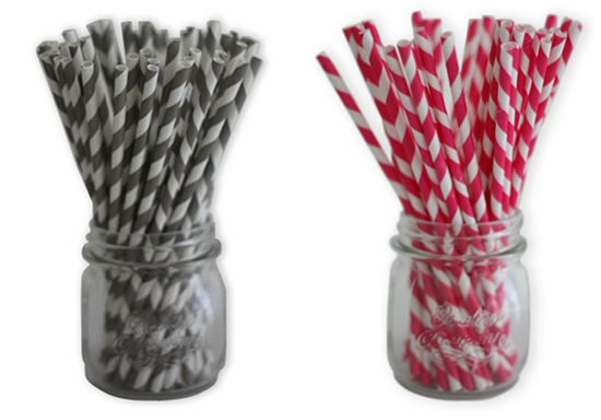 Striped Paper Straws Where Do I Get It?
