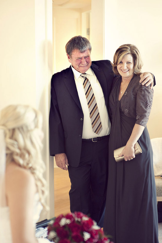 father of bride crying Magic Moments – Realisation