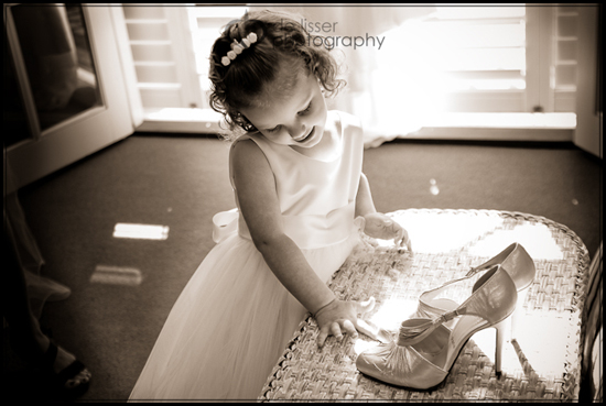 little girl touching shoes Magic Moments When I Grow Up