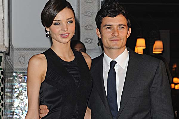 miranda kerr orlando bloom2 600x400 The 2010 Wedding Countdown