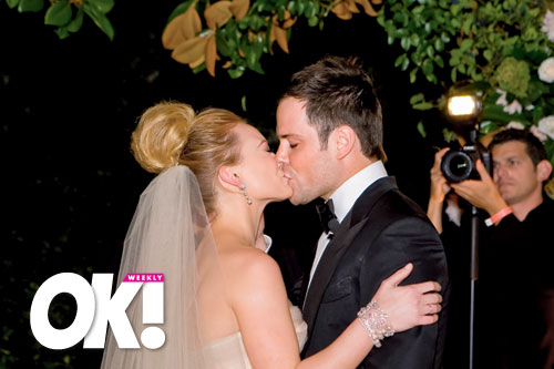 okmagazine wedding hilaryduff13 The 2010 Wedding Countdown