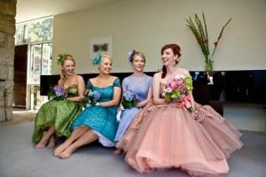 vintage 1950s australian wedding