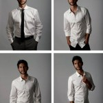 webster in white mens shirts