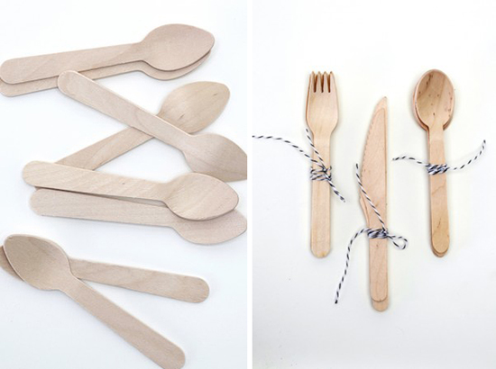 wooden cutlery Where Do I Get It?