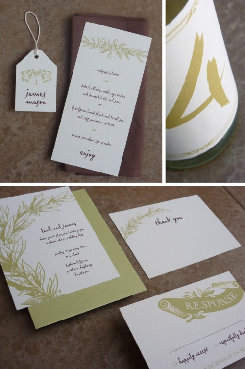 26 Free printable rustic wedding stationery