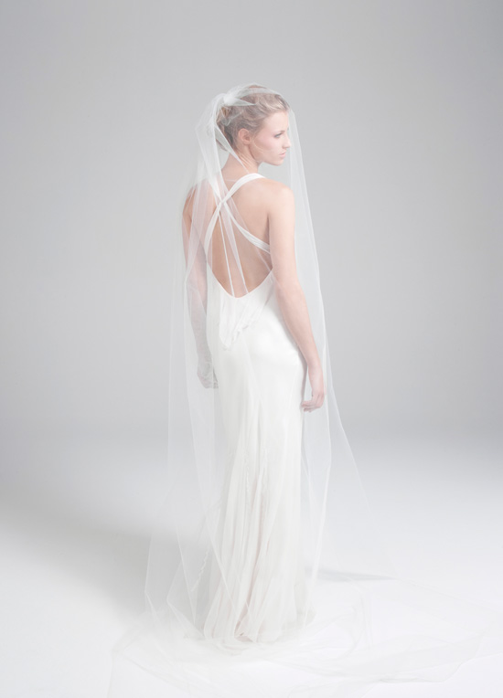 I am enchanted by the new collection of bridal gowns from Amanda Garrett