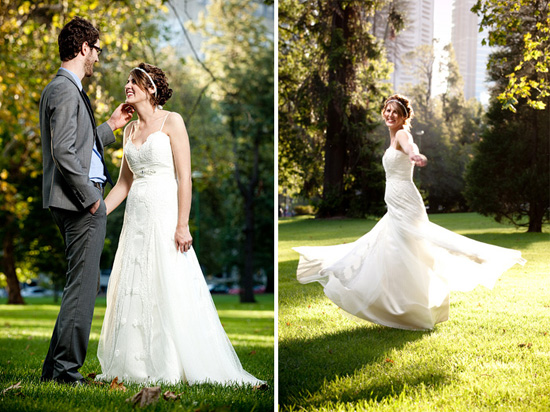 Folksy Garden Wedding Inspiration Polka Dot Bride