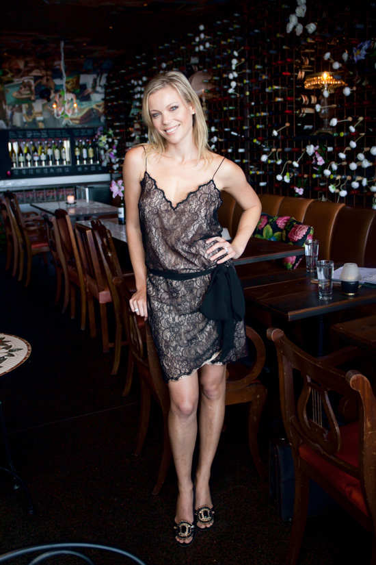 Holly Brisley Manly Wine and The Wine Suites Wedding Evening. Holly Brisley